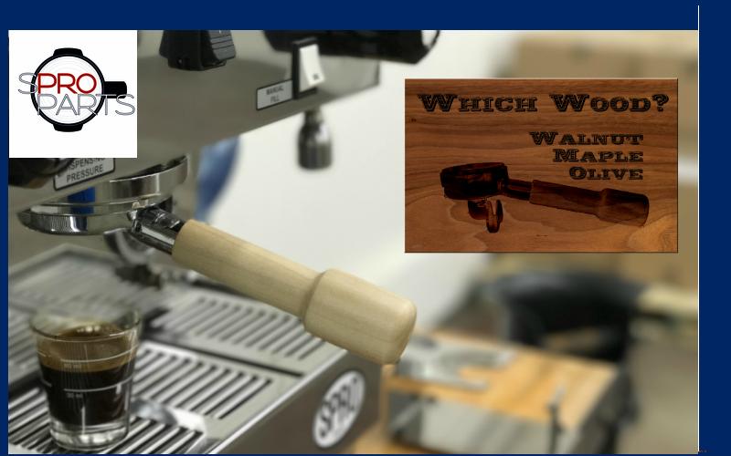 Wood Portafilter Handles 2