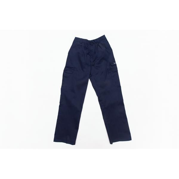 SUMMER PANTS BLUE W/WHITE LOGO L