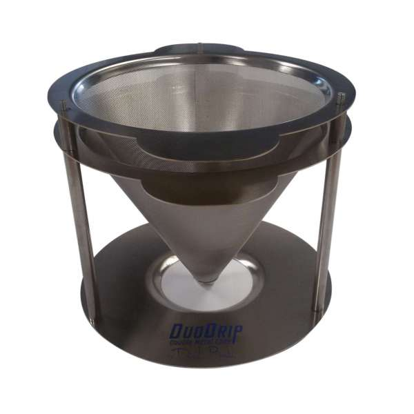 DOUBLE STAINLESS STEEL CONE EDO