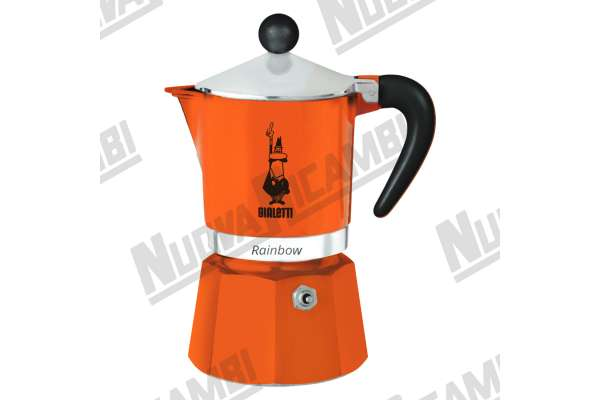 MOKA RAINBOW 3CUPS ORANGE