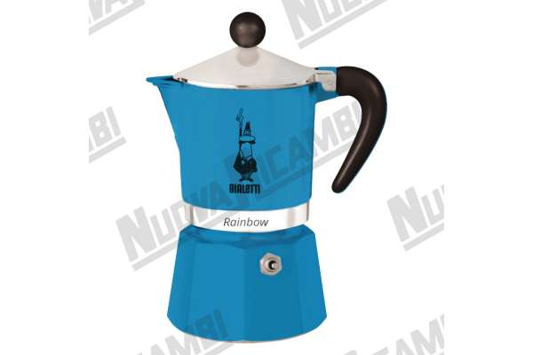 MOKA RAINBOW 3CUPS BLUE